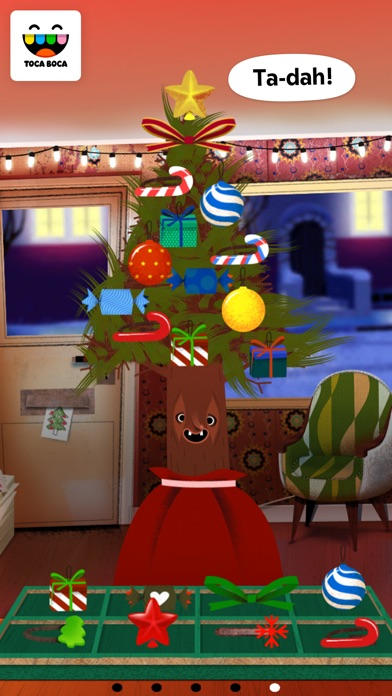 Screenshot #10 for Toca Hair Salon - Christmas Gift