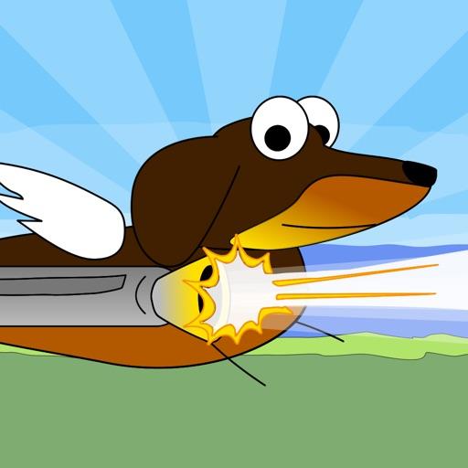 Dashing Ralph - Help this Flying Hero Dodge Dangerous Sonic Cat Missiles - Dog vs Cat Game iOS App