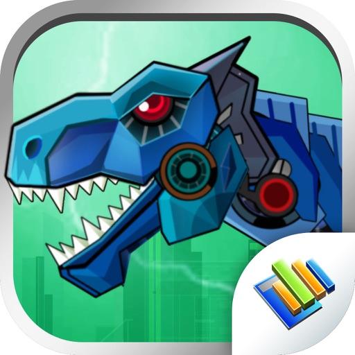 Dinosaur Robot Wars iOS App