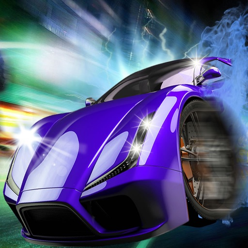 Burn Highway Race Rubber - Real Speed Xtreme Car Game iOS App
