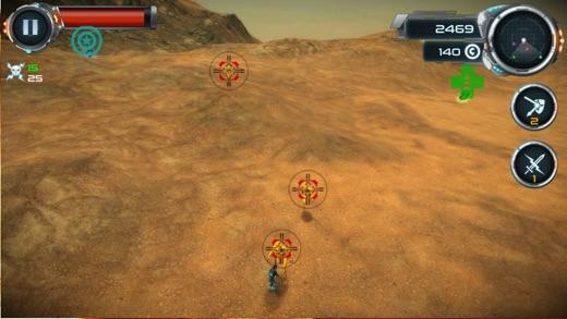 Mars Rush Screenshot
