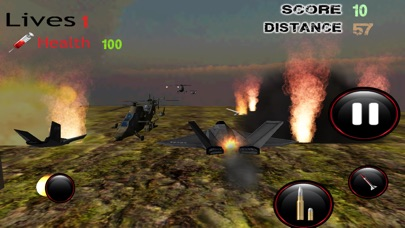 F16 هجوم طائرات هليكوبتر - قصف القوة الجوية للعدو مع طائرة مقاتلةلقطة شاشة3