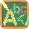 marco zaina - Tracing ABC Writer Alphabet - Learn to Write Educational Preschool Kids & Toddlers Learning Games | Macaw Moon artwork