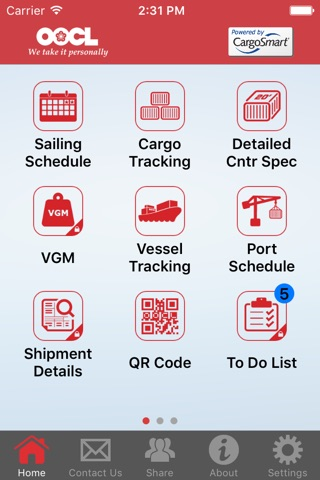 OOCL Lite screenshot 1