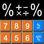 Professional Percentage Calculator - Percent Calculator+