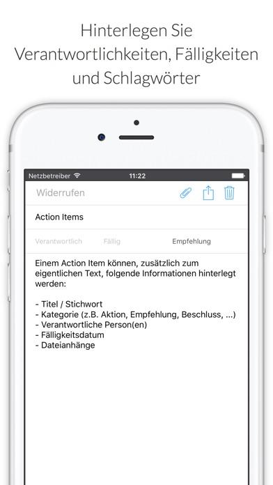 Screenshot von MinuteTaker - Protokolle4