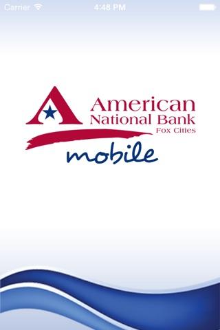 American National Bank Fox Cities screenshot 1