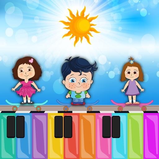 Cimcimelerle Orman Orkestrası - Çocuklar için Türkçe Piyano Çalma Oyunu