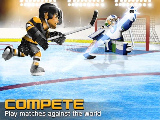 Big Win Hockey для iPad