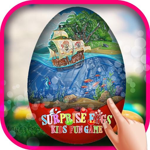 Surprise Eggs Kids fun Game – Free Kids eggs surprise with friends adventure game iOS App