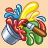 Wesoła kolorowanka - ciekawa rozrywkowo-edukacyjna gra dla dzieci to wspaniała zabawa z rysunkami, kolorami i dźwiękami