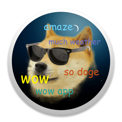 DogeWeather Mac OS X