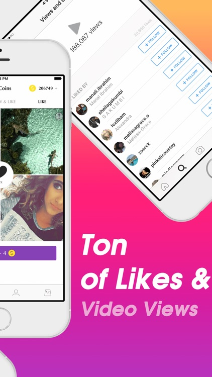 Followers + for Instagram - Get 1000 More Likes, Followers