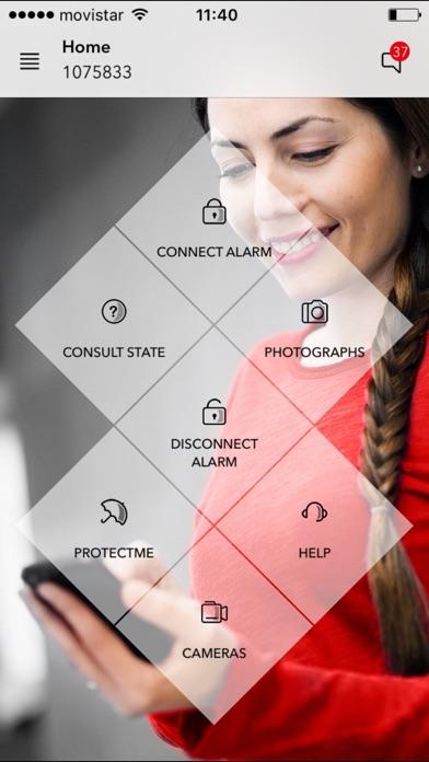 My verisure app report on mobile action - My verisure application ...