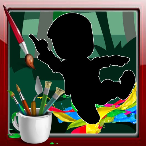 Color Book Game NINJA HATTORI KUN Games Edition iOS App