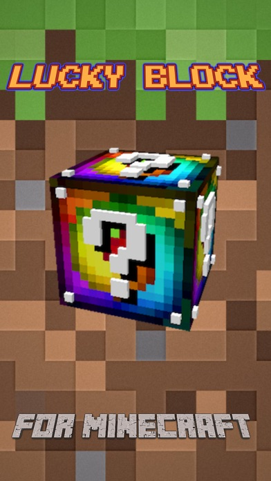 how to get lucky blocks in minecraft pe ipad