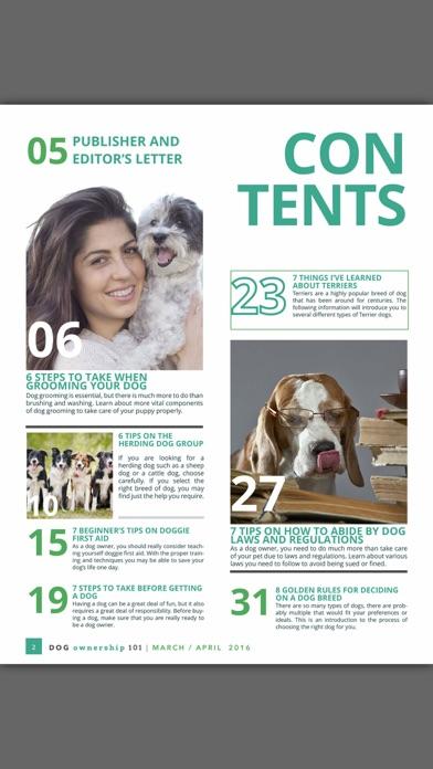 Dog Ownership 101 Magazine review screenshots