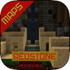 Redstone MAPS for Minecraft PE ( Pocket Edition ) + Best Custom Map for MCPE !!