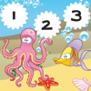 123 Counting Games For Kids With Open Sea animals