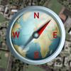 Commander Heading Compass - Minimalist, Digital GPS Finder