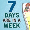 Days Of Week Learning For Kindergarten kids Using Flashcards and sounds-A toddler calendar learning app