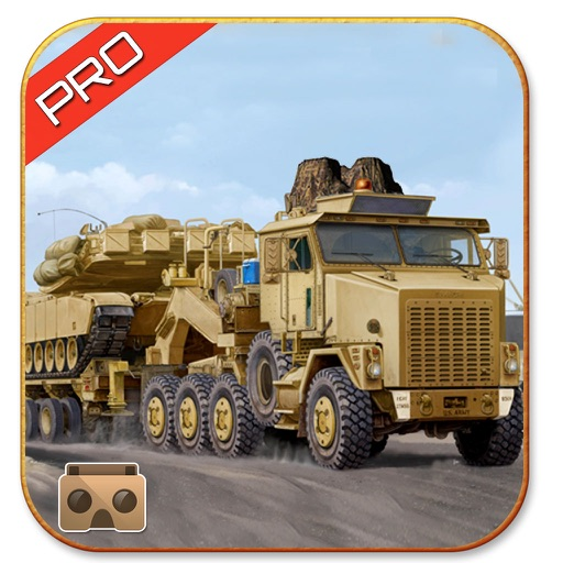 VR Army Cargo Truck Drive Pro By Coding Squares