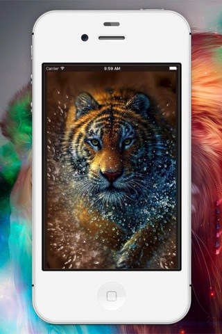 Tiger Backgrounds & Wallpapers screenshot 1