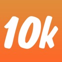 Run 10k - interval training coach + stretch program icon