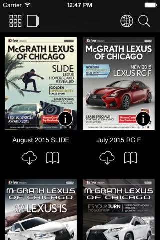 McGrath Lexus of Chicago HD screenshot 2