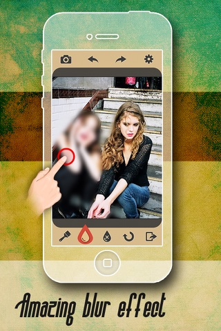 Photo Touch Blur Pro - Focus Edit.or to Hide Face & Erase Background screenshot 4