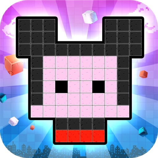 Pixel Jigsaw - use Pixel  Puzzle box build your city in the world