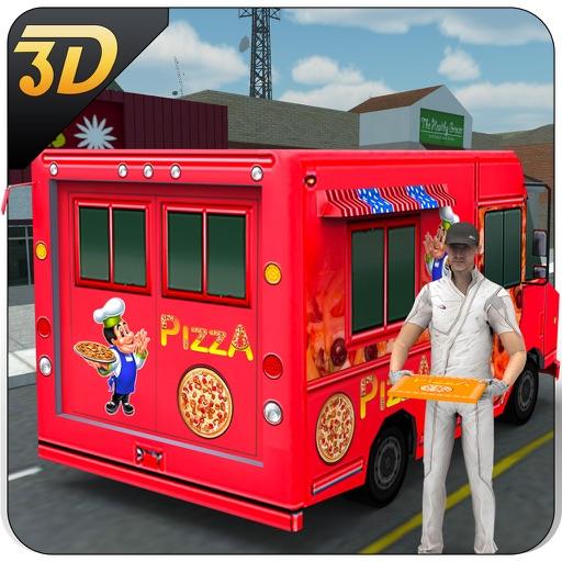 Pizza Delivery Van 3D – City Food Truck Driver Simulator Game iOS App