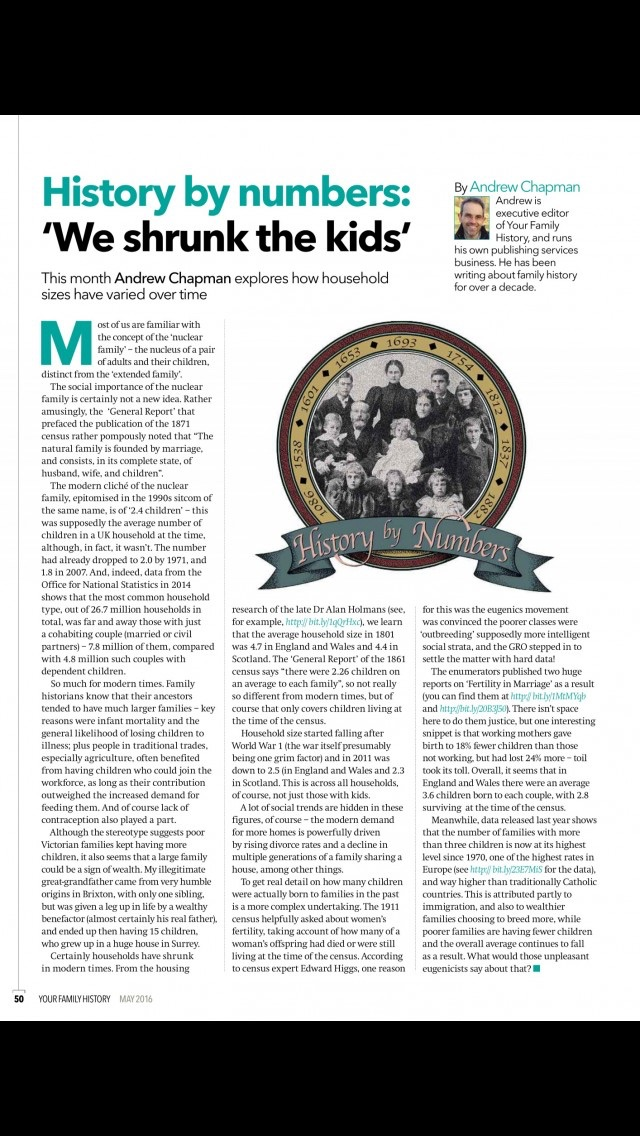 download Your Family History Magazine | genealogy and family tree research advice and tips apps 3