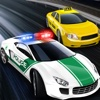 Speed Car Racing Police Chase-Turbo Traffic Racer Driving on Highway - Real Hunt & Smashing Rider Cop-Smash down all Robbers and Thieves