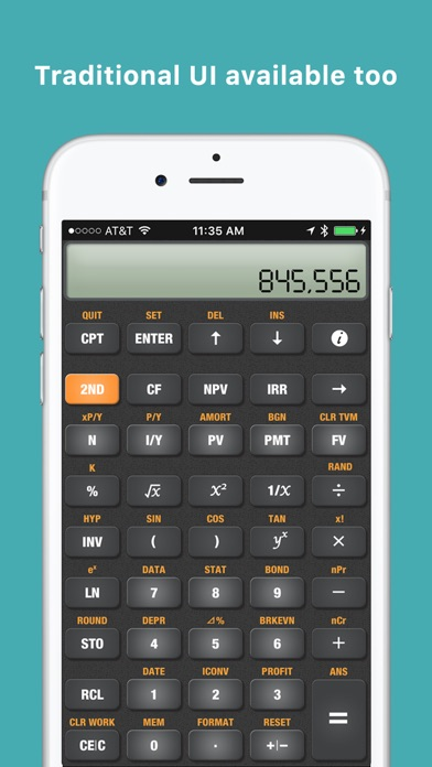 Ba Financial Calculator Pro On The App Store