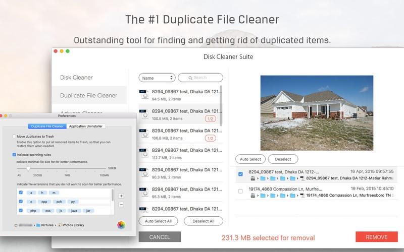 Screenshot #3 for Disk Cleaner Suite - 5 Optimization Apps