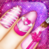 Cute Nail Art Designs Game 3D: Beauty and Manicure Salon for Girls