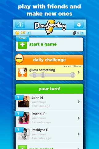 Draw Something Classic screenshot 1