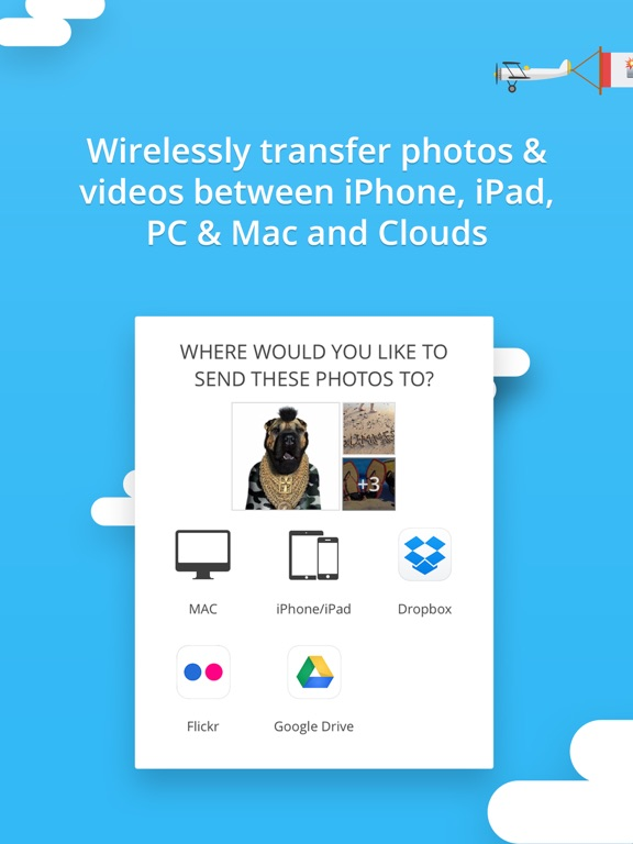 Screenshot #1 for Photo Transfer 3.0 wifi - share and backup your photos and videos