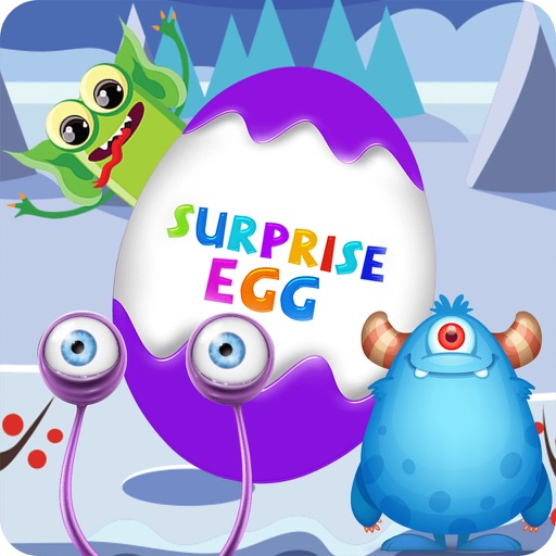 Surprise Eggs Monster Toys iOS App