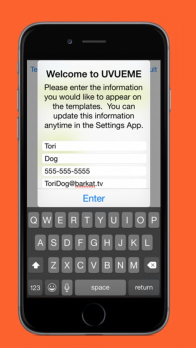 download UVUEME : Generate Customize Signature To Emails And Text Messages apps 3
