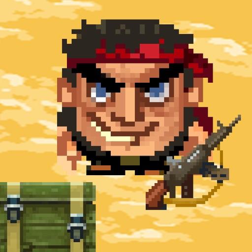 Warrior Bit Falling iOS App