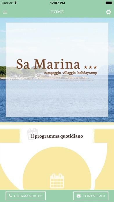 Screenshot of Camping Sa Marina2
