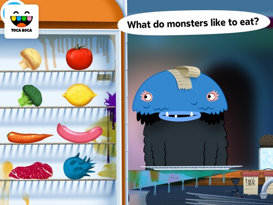 Screenshot #4 for Toca Kitchen Monsters