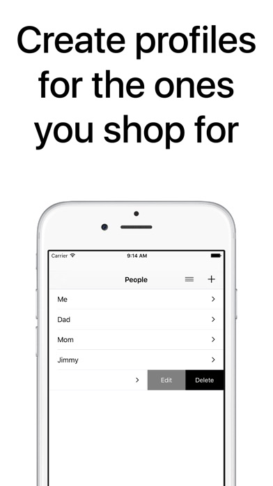 download Clothes Organizer - Size Manager for Shoes, Clothing, and Fashion Shopping apps 3