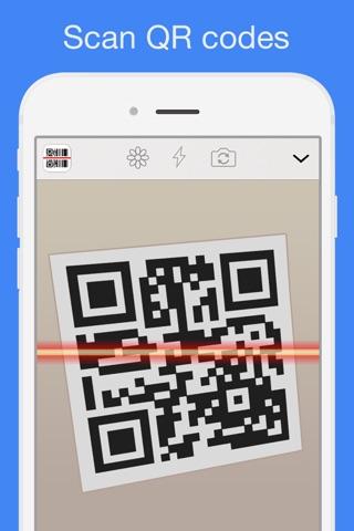 QR Reader for iPhone screenshot 1