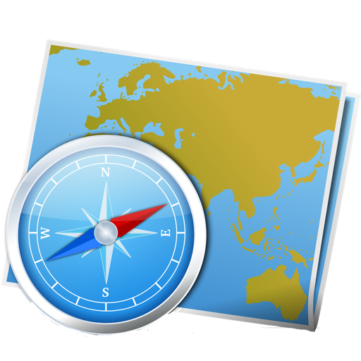 Atlas & Navigation for Google Maps Mac OS X