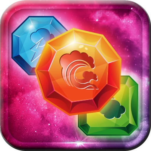 Gems Land Fantasy Match iOS App
