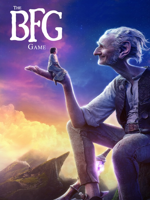 The BFG Game iPad