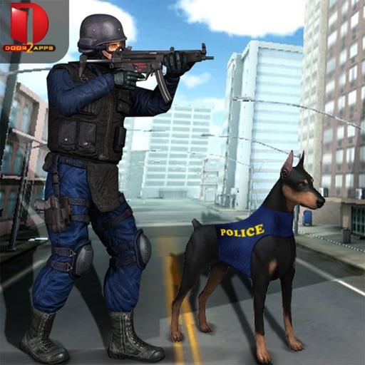 Angry Police Dog Simulator Free iOS App